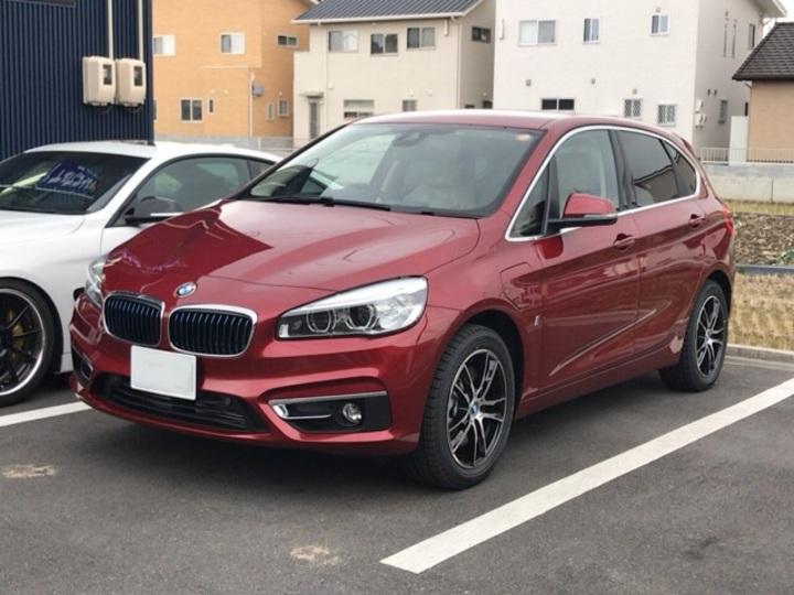 BMW 2シリーズのカーフィルム施工です。のサムネイル