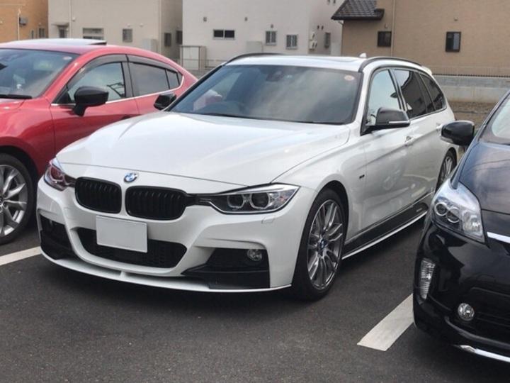 BMW3シリーズにレーダー探知機の取り付けです。岡山、倉敷市からのお客様です。のサムネイル