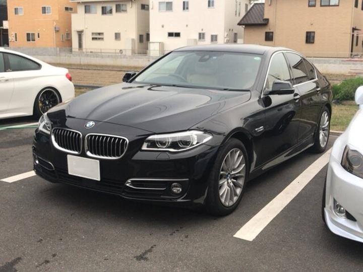 BMW5シリーズにカーフィルム施工です。岡山市からのお客様です。のサムネイル