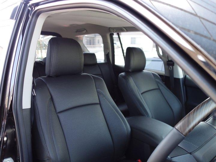 ランドクルーザープラドにスパイシーチューンのシートカバー取り付けです。倉敷市からのお客様です。のサムネイル