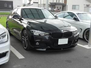 BMW3シリーズのデッドニングです。倉敷市からのお客様です。