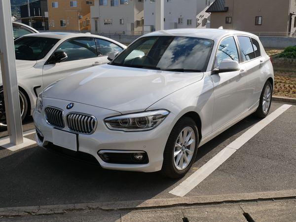 BMW1シリーズにウインコスGY–15IR、IR–90HDでカーフィルム施工です。倉敷市からのお客様です。